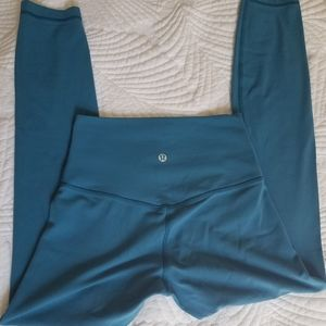 """New Lululemon Align pant ll 25"""" Pacific teal"""